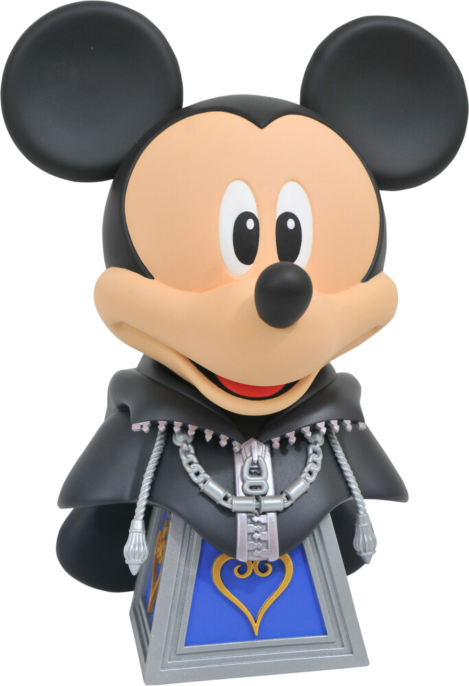 Diamond Select - Diamond Select - Kingdom Hearts Legends In 3D Org XIII Mickey 1/2Scale Bust