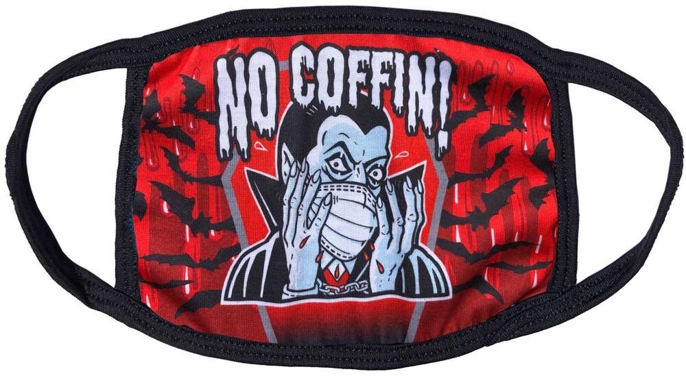 Dracula No Coffin Face Mask - Dracula No Coffin Face Mask