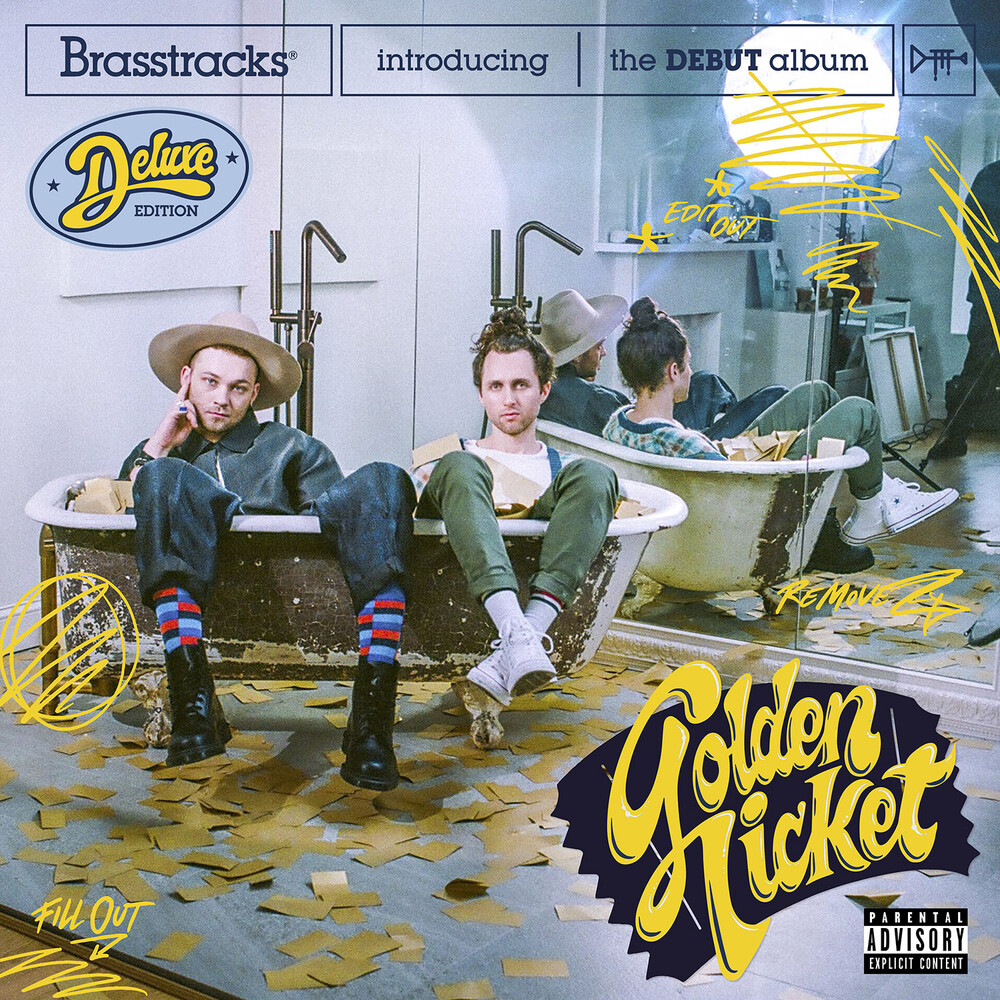 Brasstracks - Golden Ticket [Deluxe 2LP]