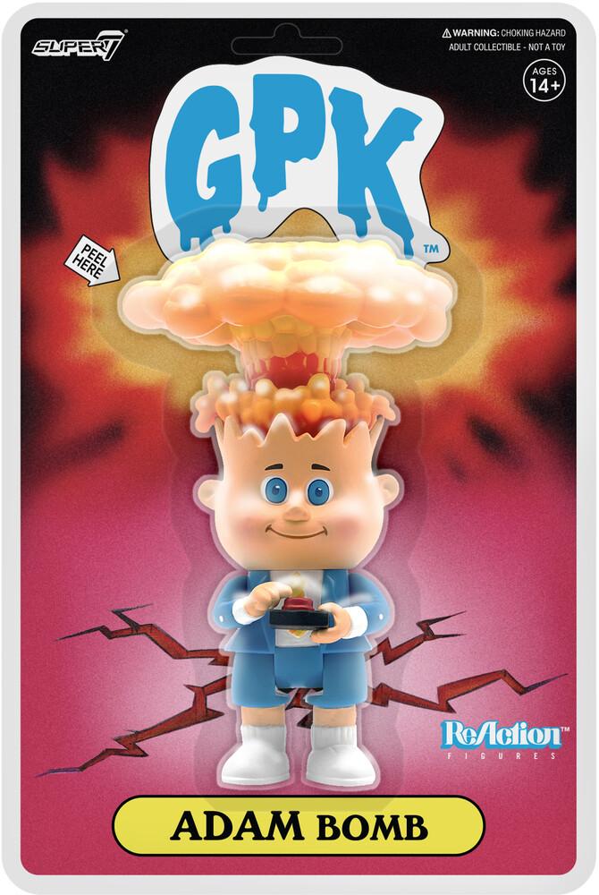 Garbage Pail Kids - Adam Bomb Reaction (Nycc 2020) - Super7 - Garbage Pail Kids (GBK) - Adam Bomb ReAction (NYCC 2020 Exclusive)