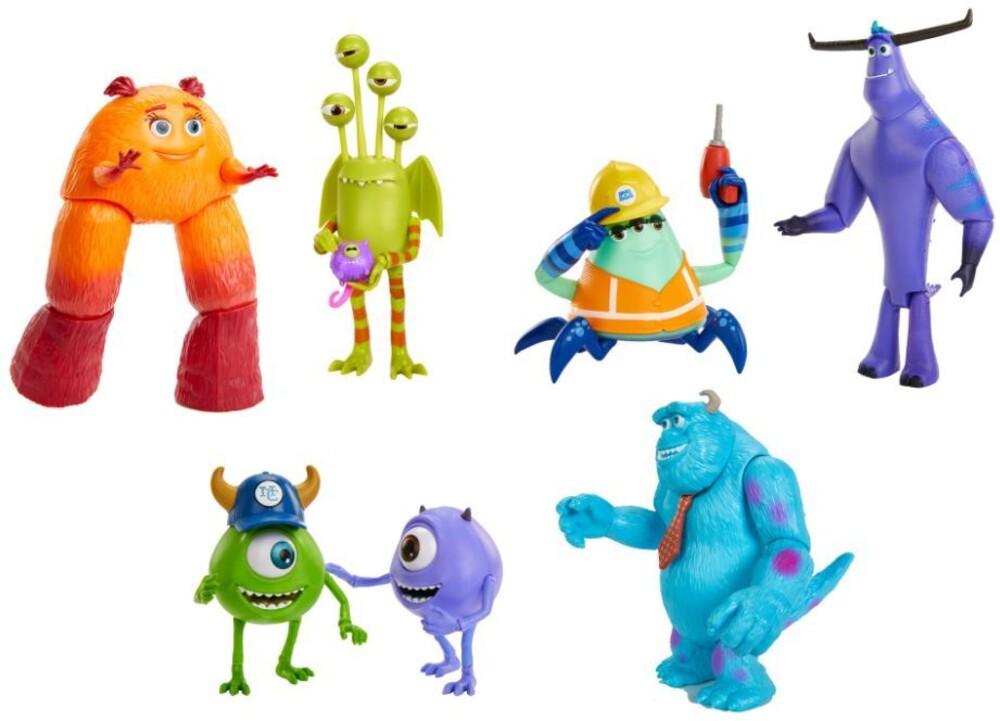 Pixar Monsters at Work - Mattel - PIXAR Monsters at Work Figure Assortment (Disney/PIXAR)