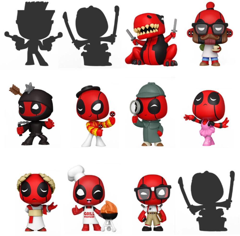 - FUNKO MYSTERY MINI: Deadpool 30th (ONE Random Mystery Mini Figure Per Purchase)