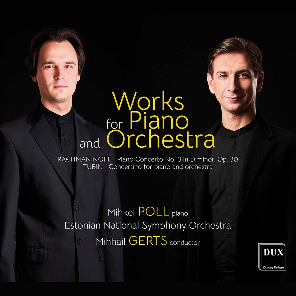 Mihkel Poll - Works for Piano & Orchestra