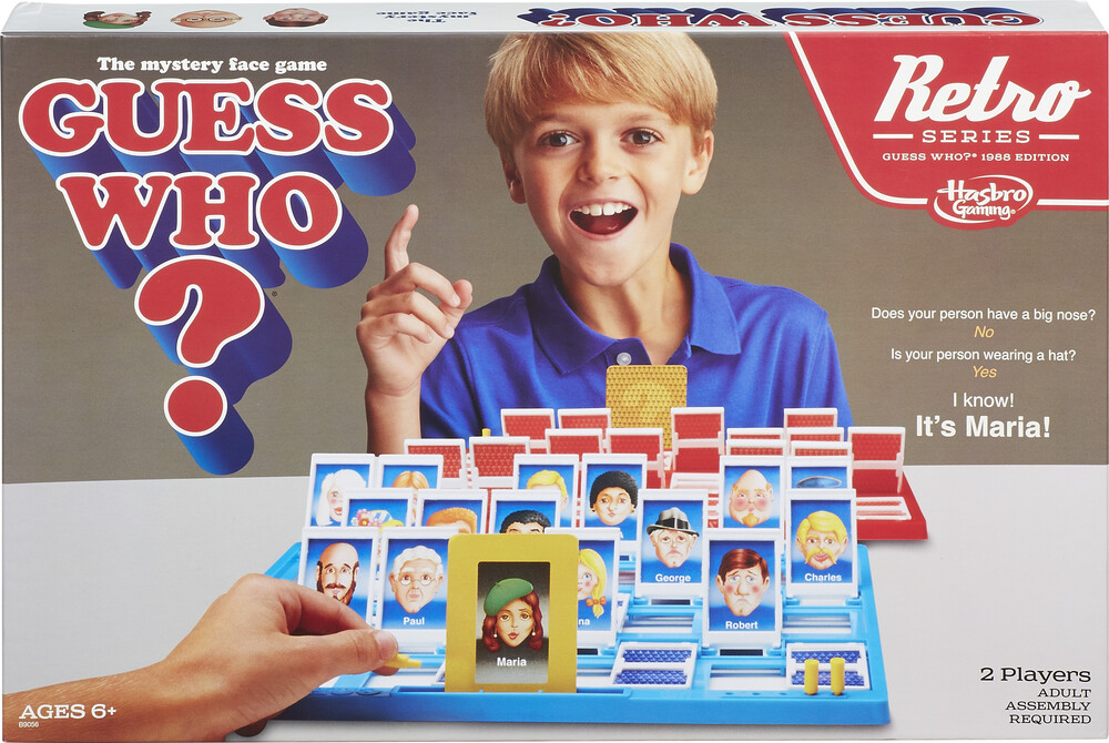 Retro Guess Who - Hasbro Gamming - Retro Guess Who