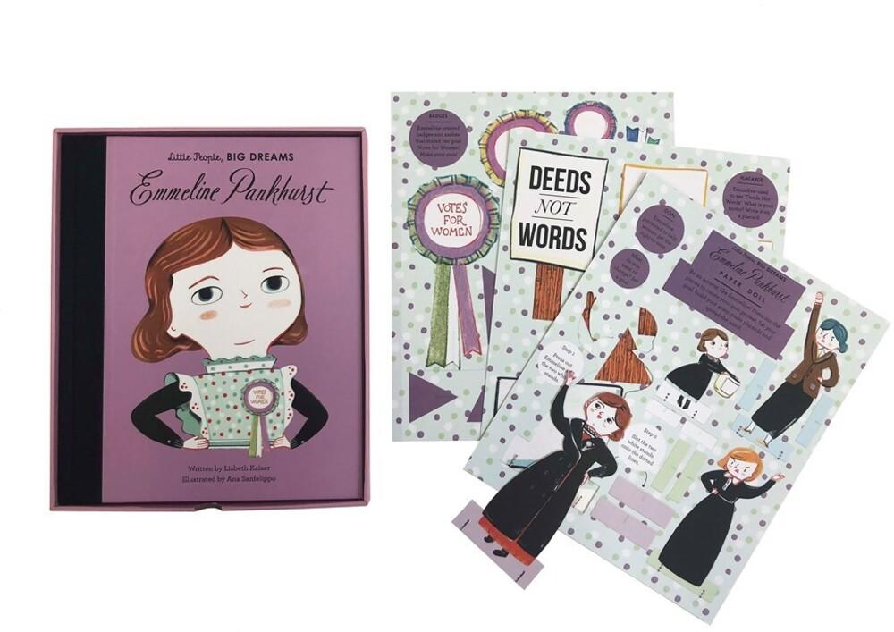 Vegara, Maria Isabel Sanchez - Emmeline Pankhurst Book and Paper Doll Gift Edition Set: LittlePeople, Big Dreams