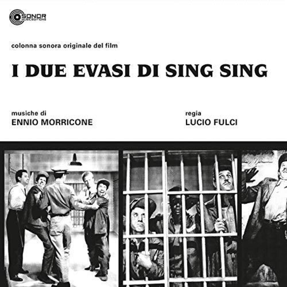 Ennio Morricone  (Ita) - I Due Evasi Di Sing Sing (Two Escape From Sing Sing) (Original Soundtrack)