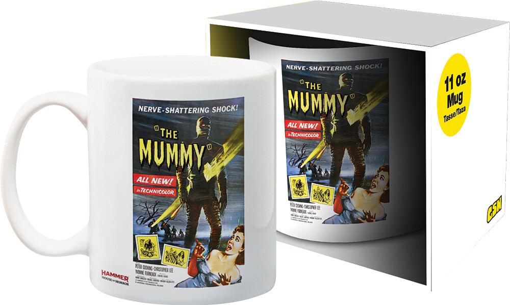 Hammer Mummy Girl 11Oz Boxed Mug - Hammer The Mummy Girl 11oz Boxed Mug