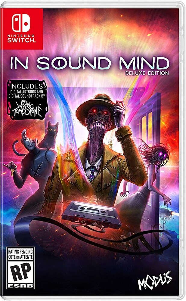 Swi in Sound Mind: Deluxe Ed - In Sound Mind: Deluxe Edition for Nintendo Switch