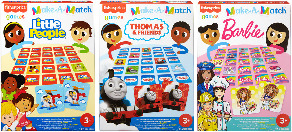- Mattel Games - Preschool Matching Game Assortment