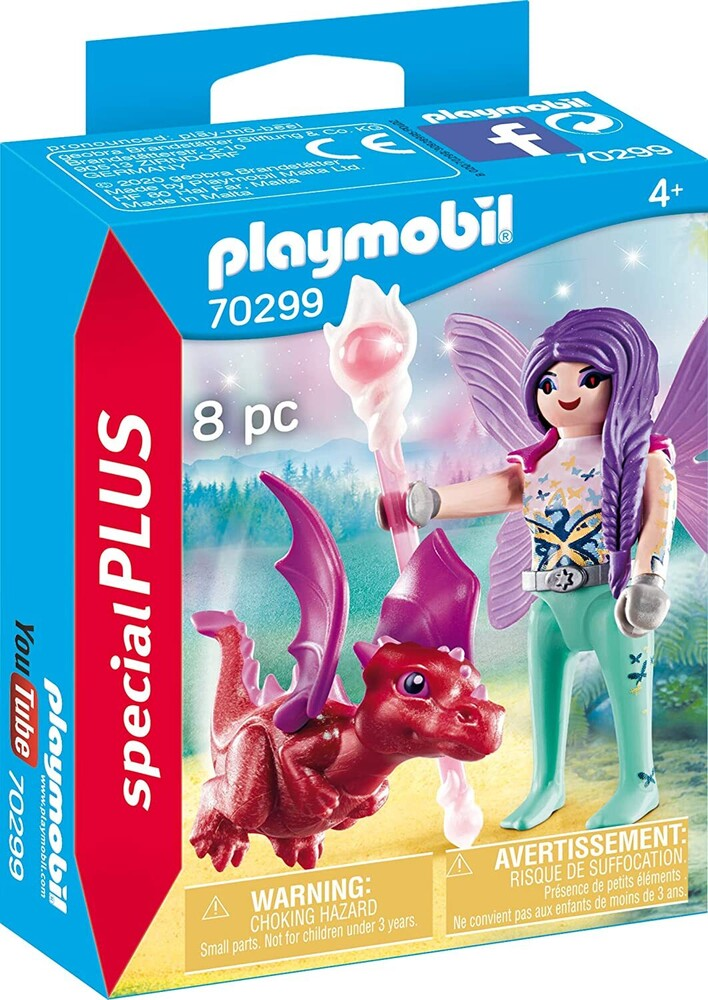 - Special Plus Fairy With Baby Dragon (Fig)