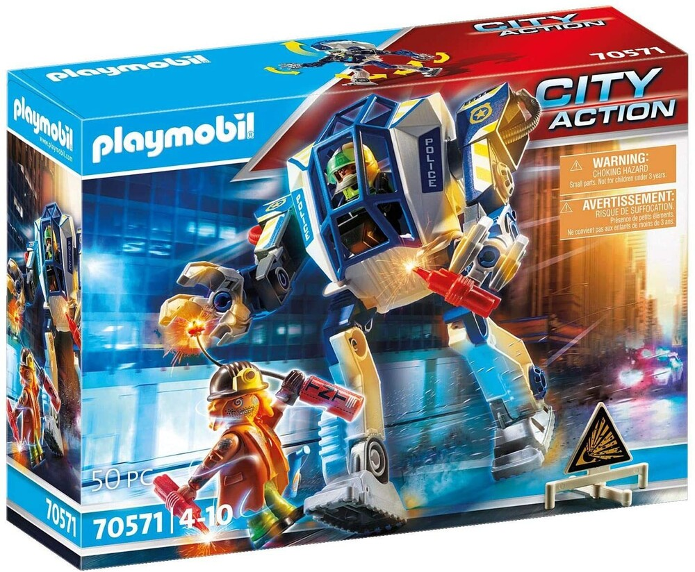 - City Action Special Operations Police Robot (Fig)