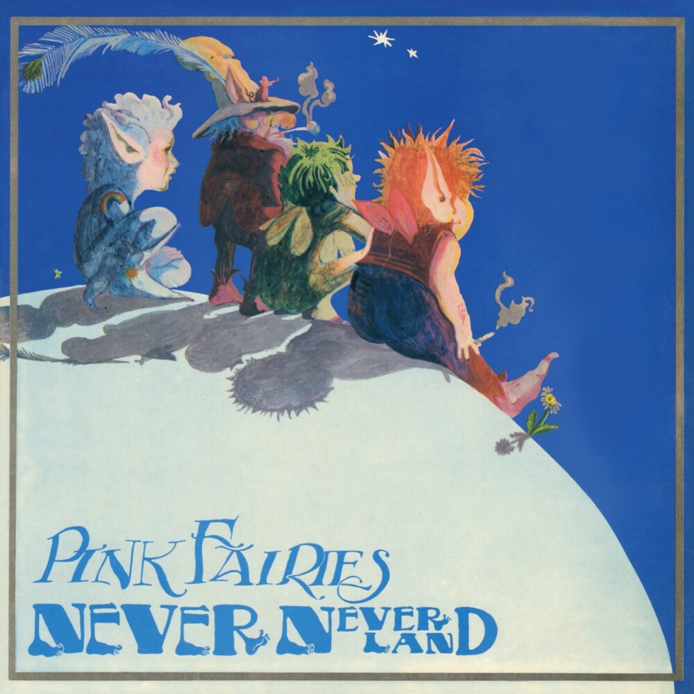 Pink Fairies - Never Never Land [Colored Vinyl] (Pnk) (Can)