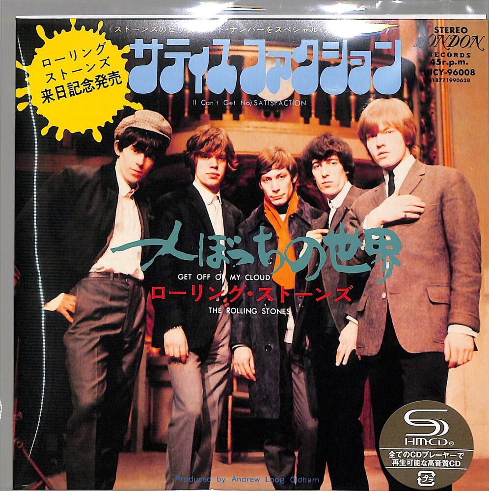 The Rolling Stones - (I Can't Get No) Satisfaction/ Get Off My Cloud (SHM-CD) (7-inch Sleeve Packaging)