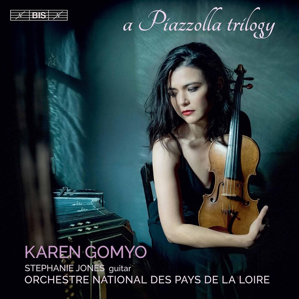 Piazzolla / Gomyo / Jones - Piazzolla Trilogy (Hybr)
