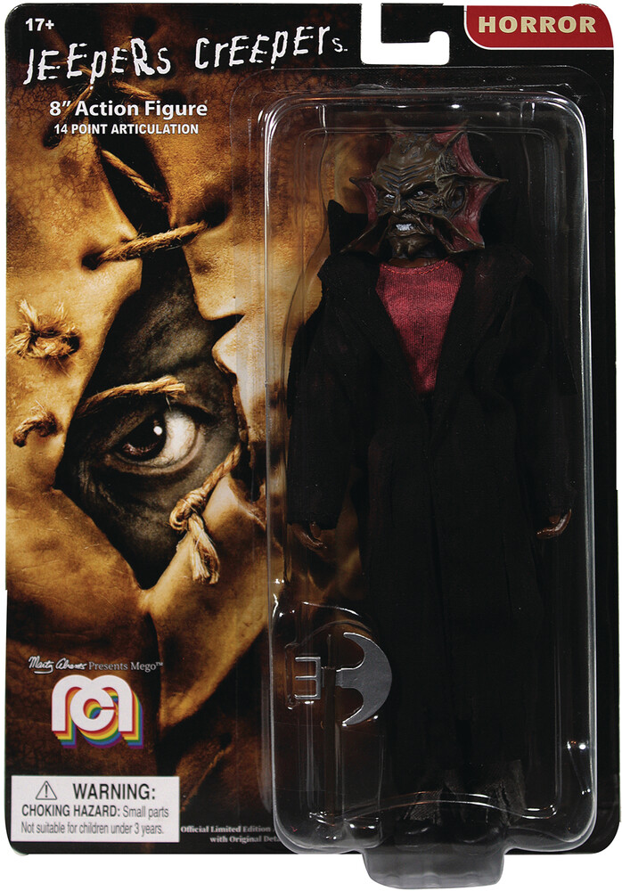 - Mego Horror Jeepers Creepers 8in Af (Afig) (Clcb)