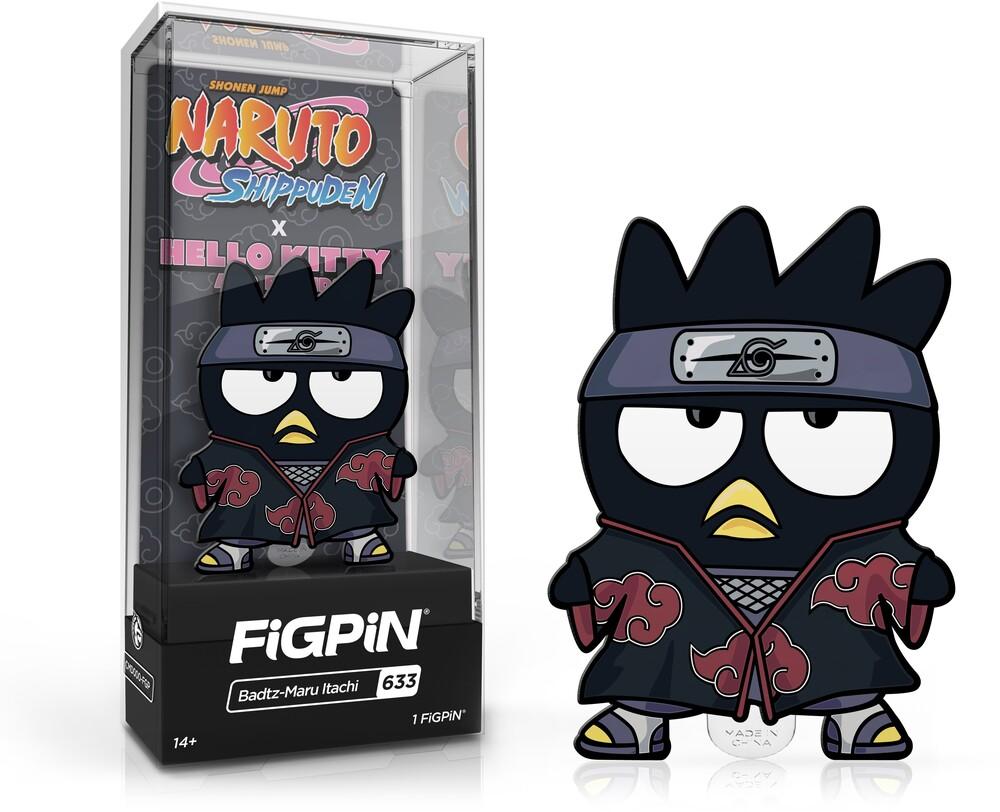 - FiGPiN Naruto Shippuden X Hello Kitty - Badtz-Maru Itachi #633