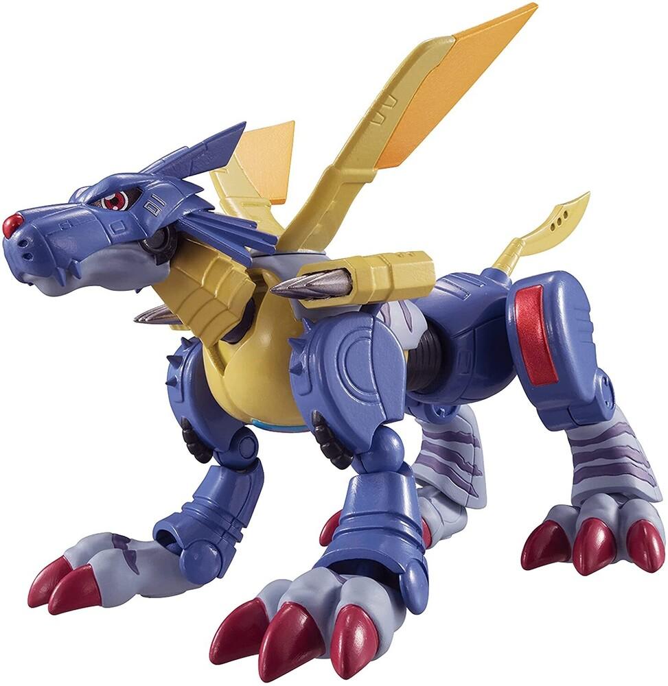 - Digimon Shodo 3.5in Metal Garurumon Action Figure