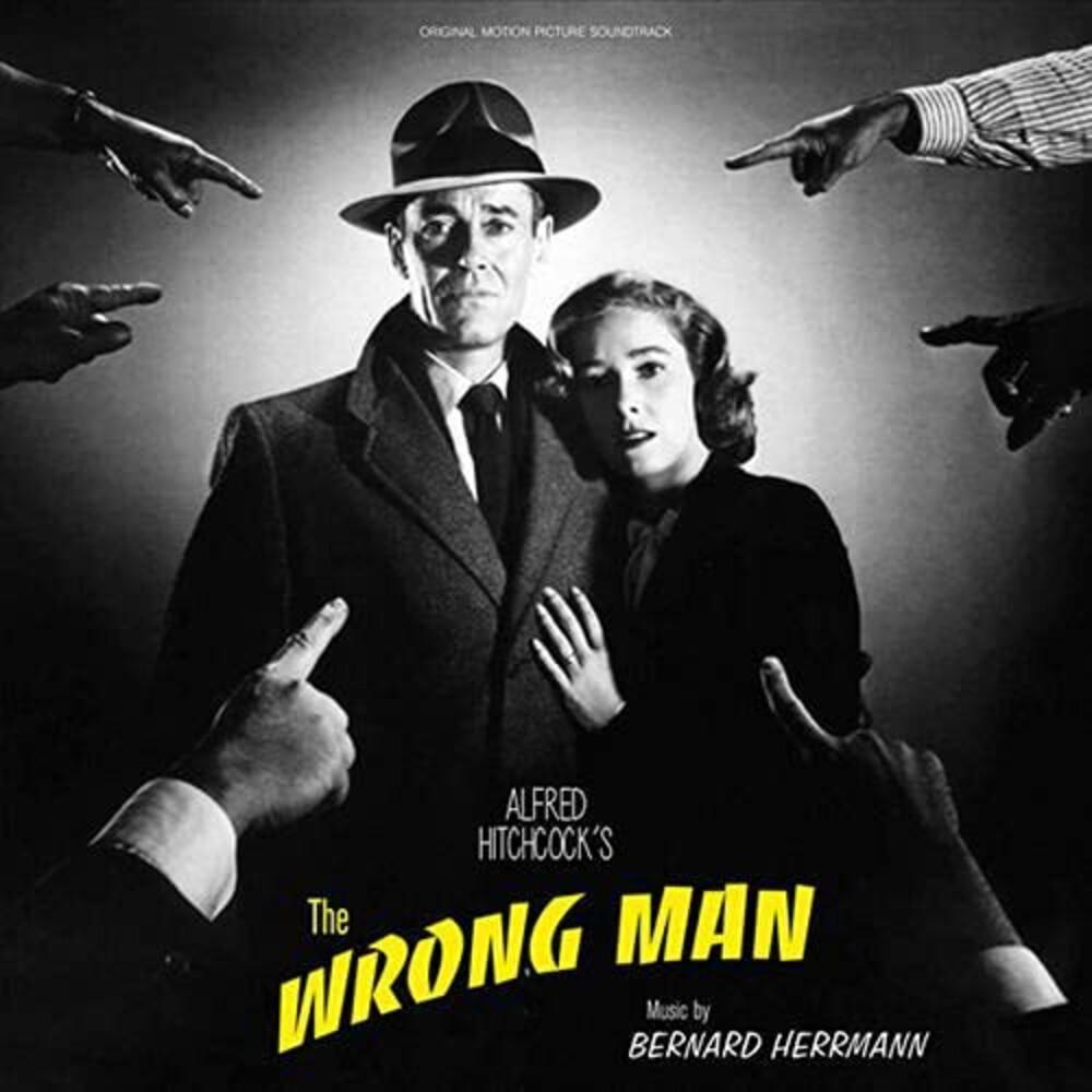 Bernard Herrmann  (Colv) (Ylw) (Uk) - Wrong Man / O.S.T. [Colored Vinyl] (Ylw) (Uk)