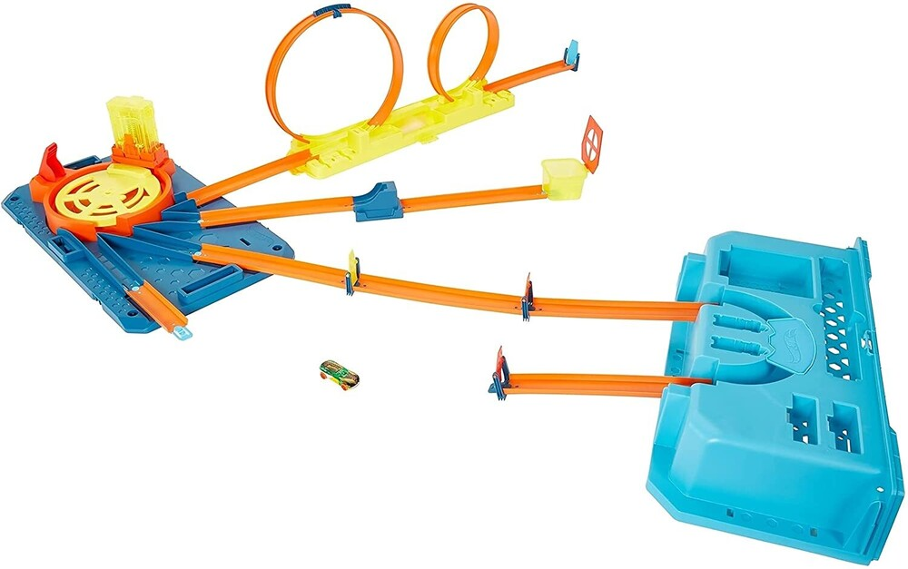 Hot Wheels - Hw Track Builder Spin Out Builder Box Playset