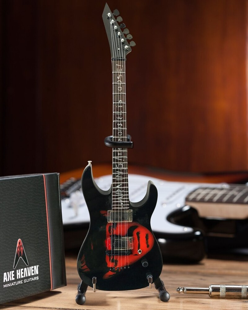 Kirk Hammett Metallica Frankenstein Mini Guitar - Kirk Hammett Metallica Frankenstein Mini Guitar