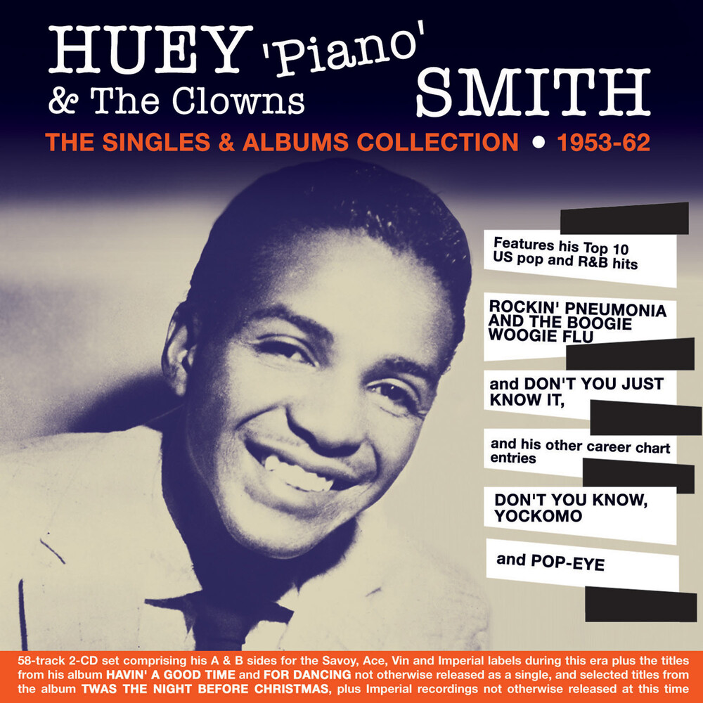 Huey Smith - Singles & Albums Collection 1953-62