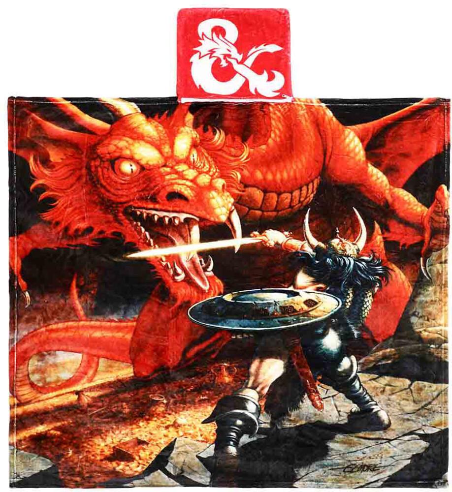 Dungeons & Dragons Digital Fleece Pocket Throw - Dungeons & Dragons Digital Fleece Pocket Throw