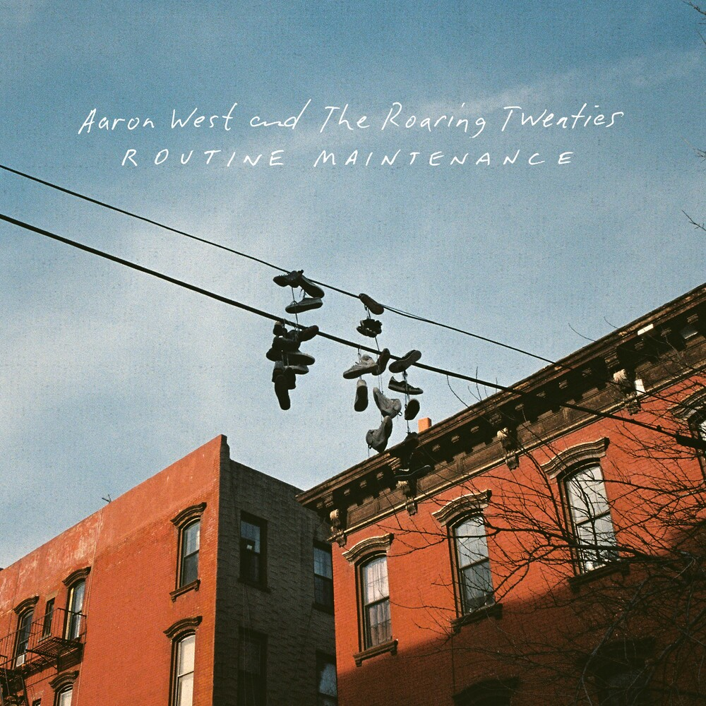 Aaron West & The Roaring Twenties - Routine Maintenance [Indie Exclusive Limited Edition Orange LP]