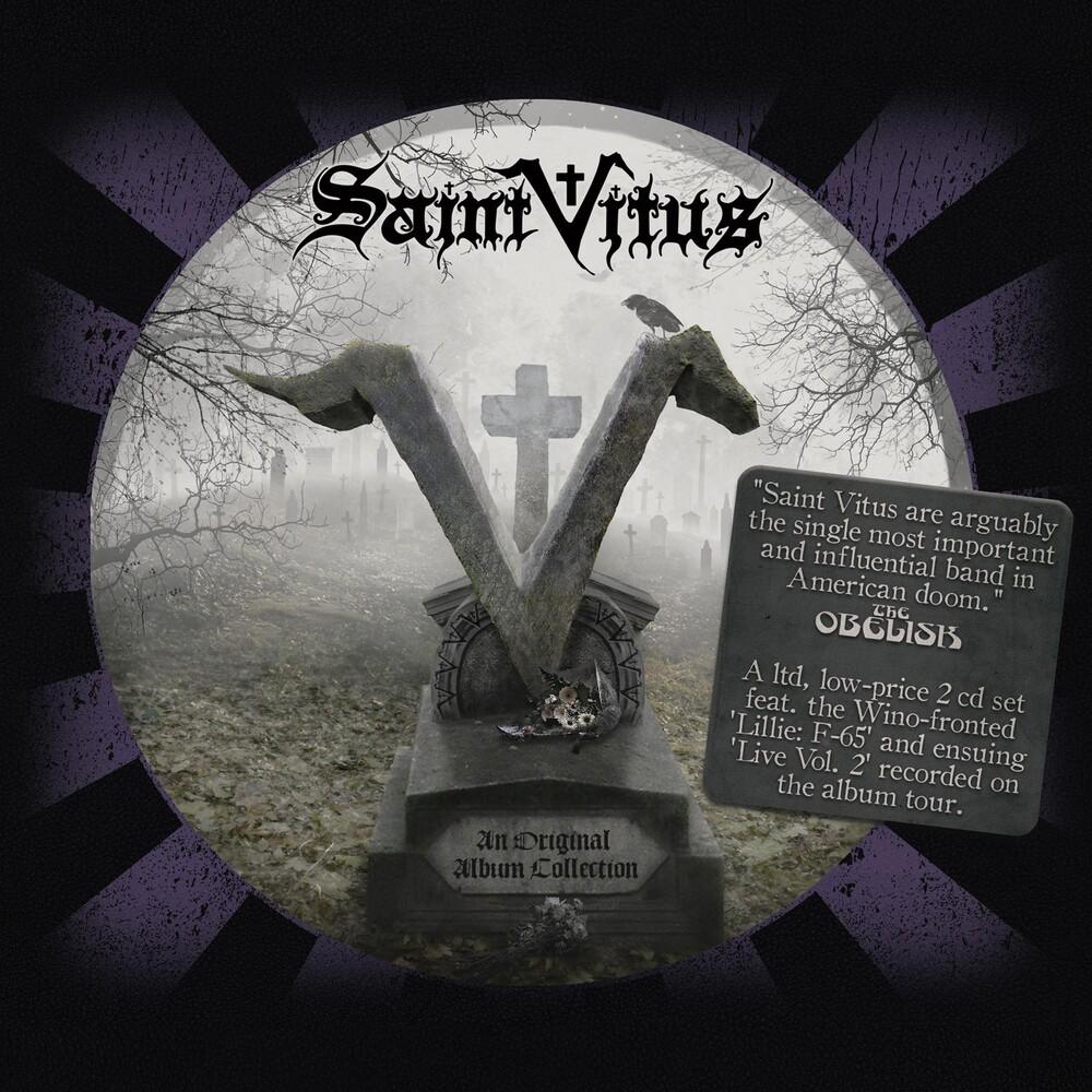 Saint Vitus - An Original Album Collection: Lillie: F-65 + Live