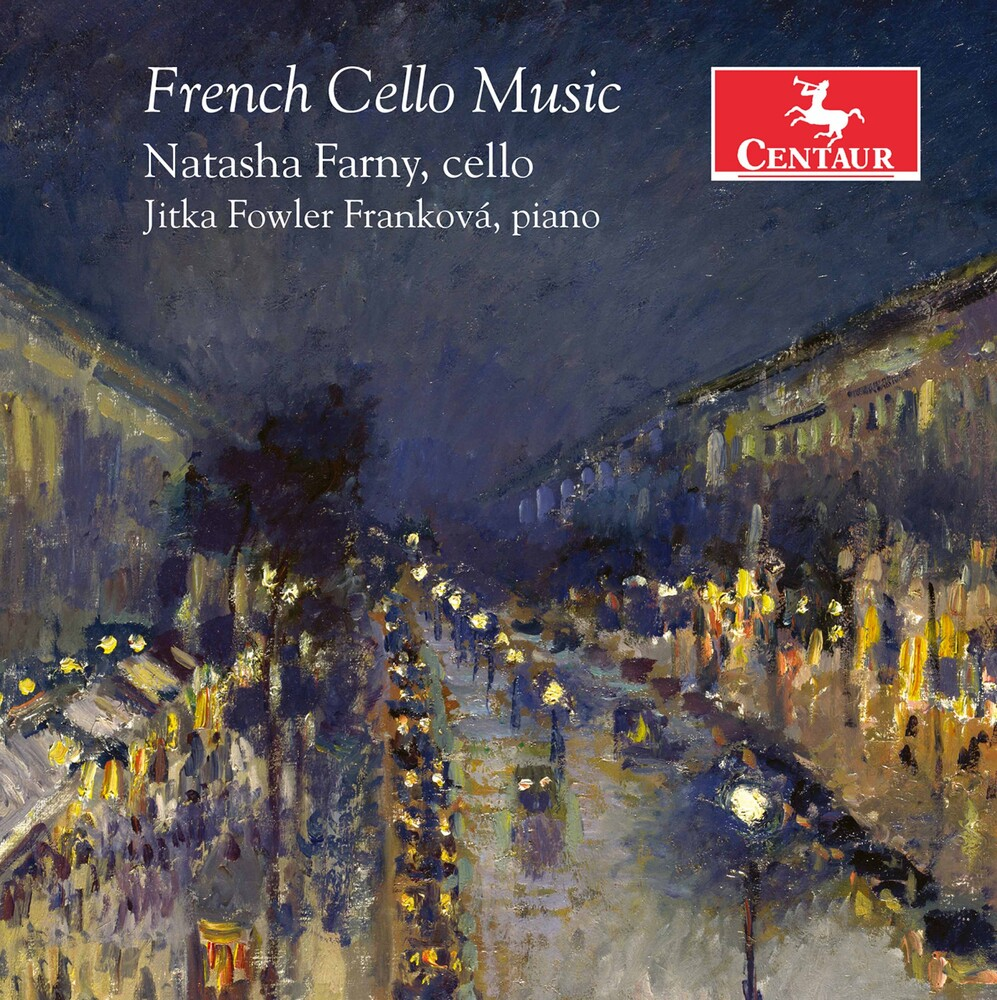 Boulanger / Farny / Frankova - French Cello Music