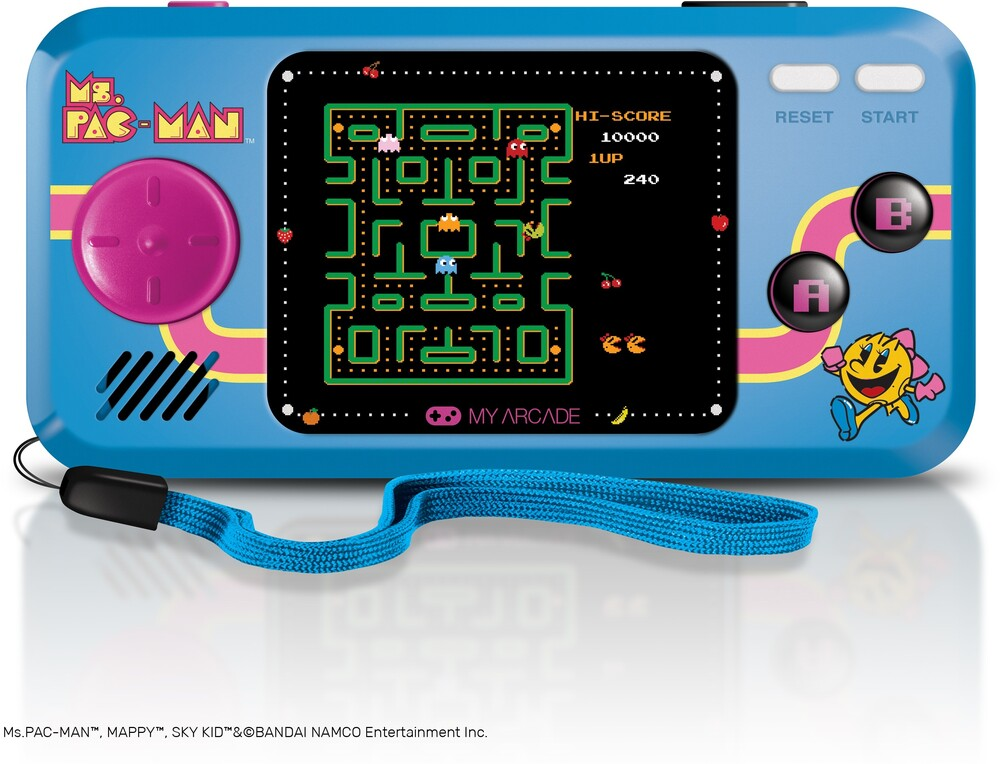 - My Arcade DGUNL-3242 MS.PAC-MAN POCKET PLAYER