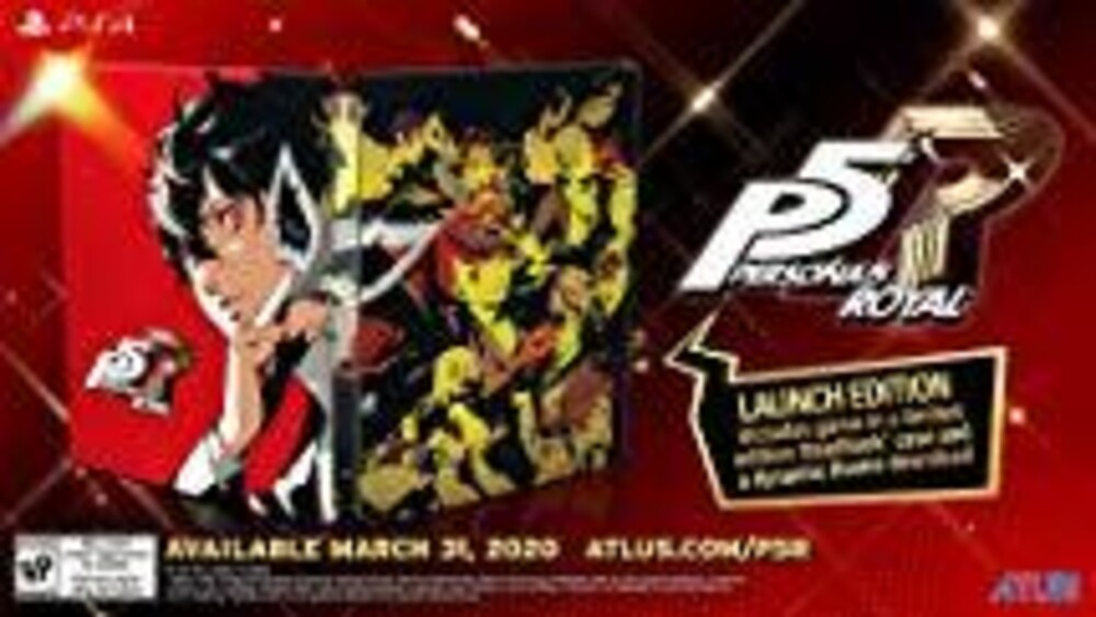 Ps4 Persona 5 Royal Steelbook Launch Edition - Persona 5 Royal Steelbook Launch Edition