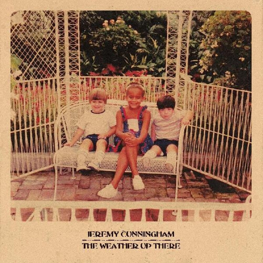 Jeremy Cunningham - Weather Up There (Blue) [Colored Vinyl] [Indie Exclusive] [Download Included]