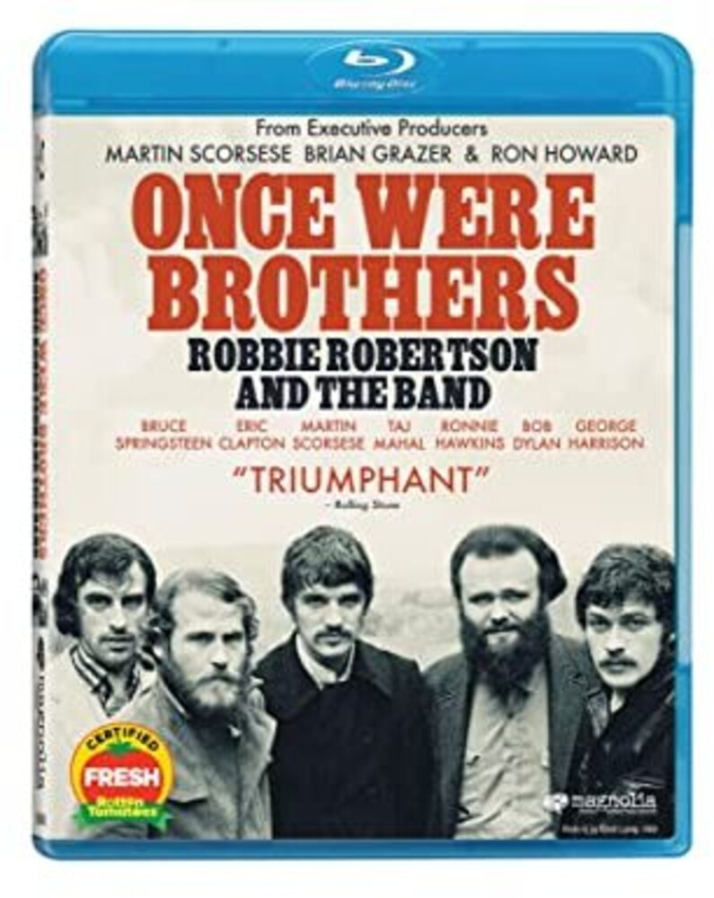 Robbie Robertson - Once Were Brothers: Robby Robertson & The Band [Blu-ray]