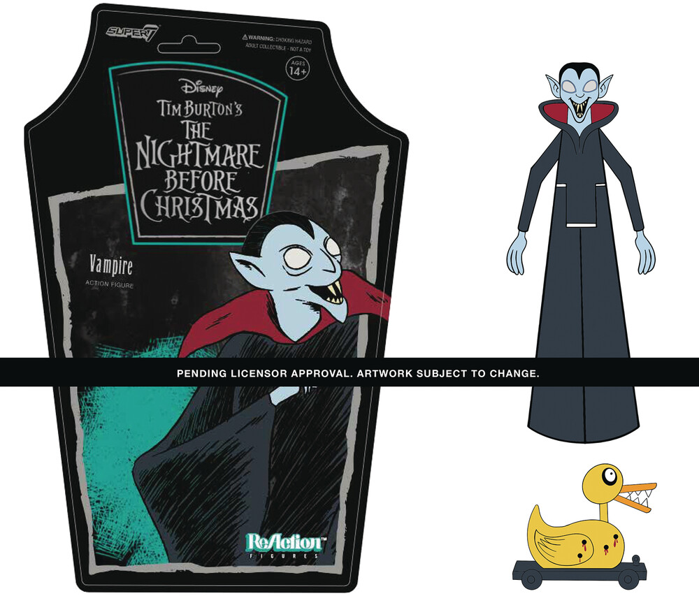 Nightmare Before Christmas Reaction W1 - Vampire - Super7 ReAction Nightmare Before Christmas ReAction Wave 1 - Vampire