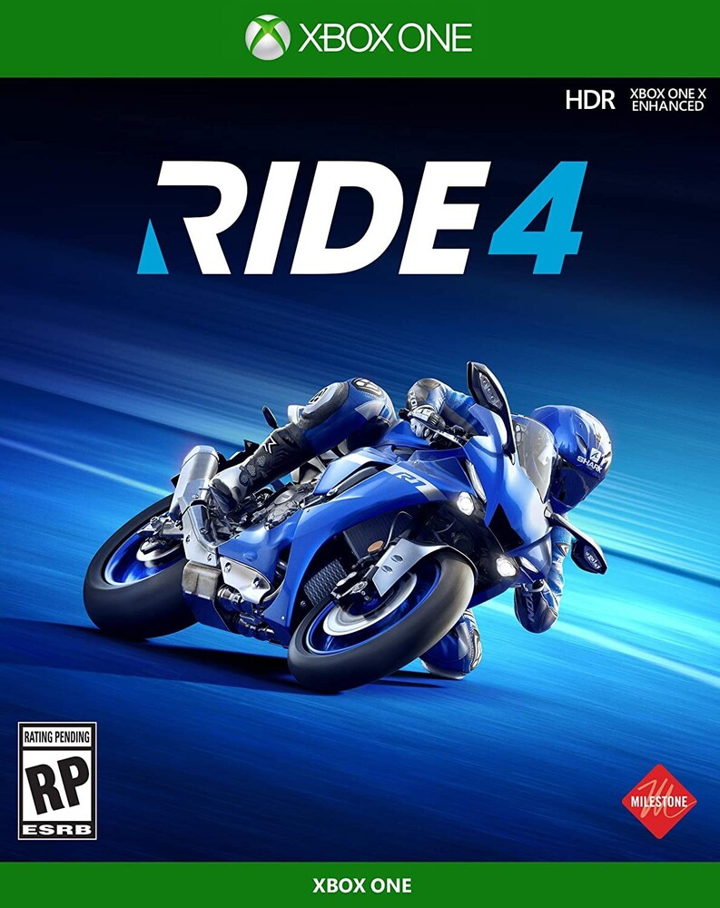 - Ride 4 for Xbox One