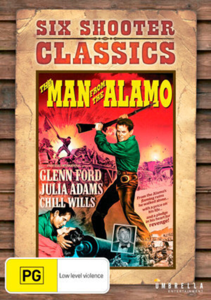 - Man From The Alamo / (Aus Ntr0)