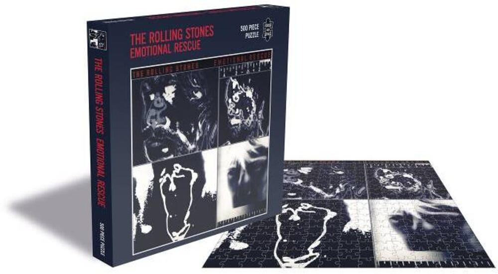 - Rolling Stones Emotional Rescue (500 Piece Jigsaw Puzzle)