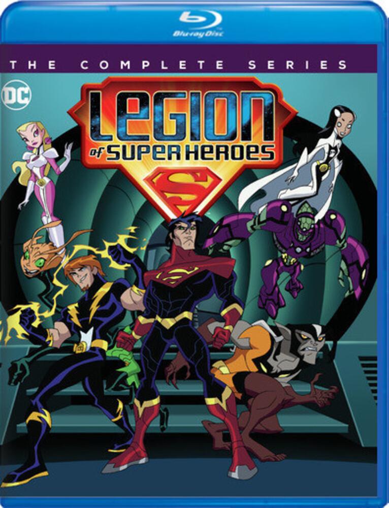 - Legion Of Super Heroes: Complete Series (3pc)