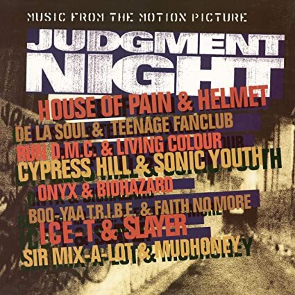 Judgment Night / OST Colv Ltd Ogv Org - Judgment Night / O.S.T. (Colv) (Ltd) (Ogv) (Org)