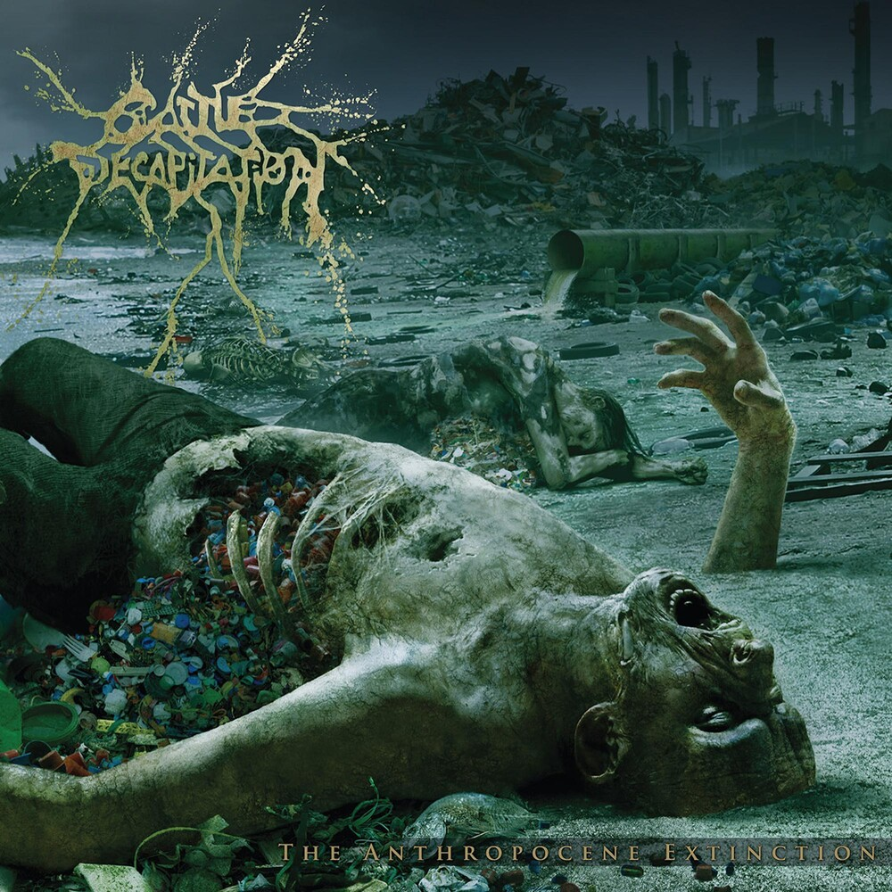 Cattle Decapitation - The Anthropocene Extinction [Coke Bottle Green in White LP]