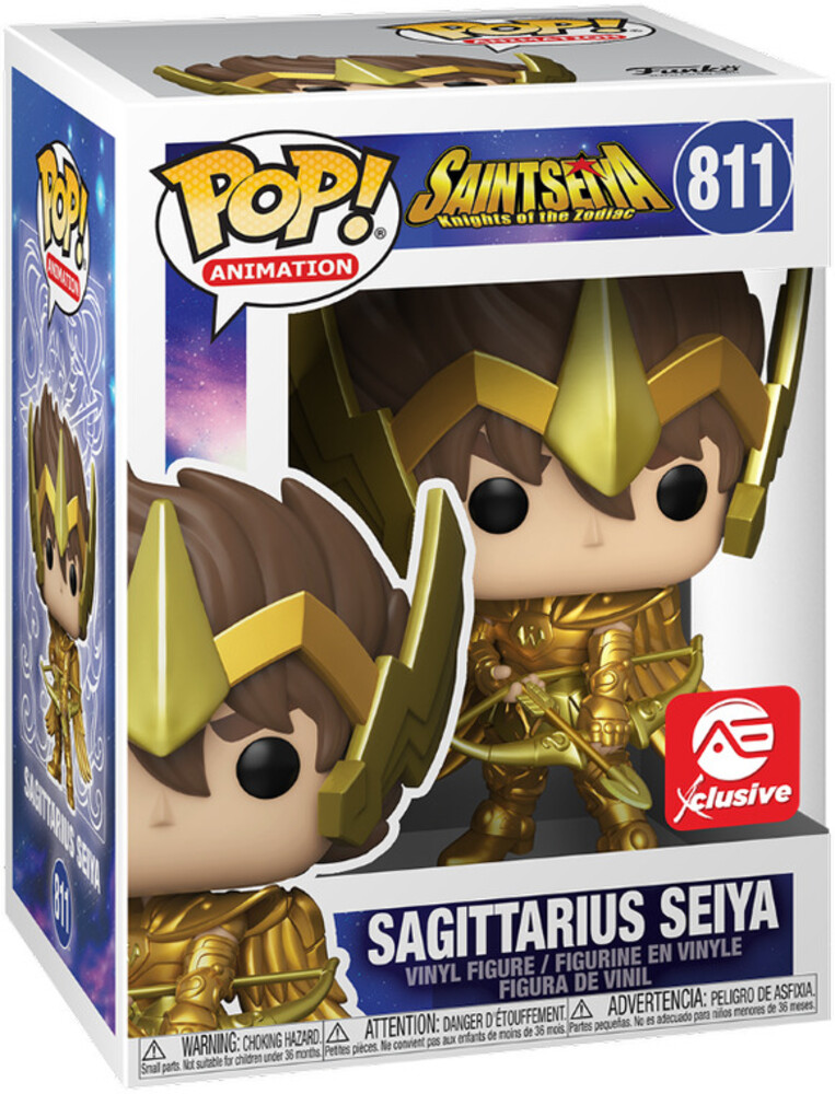 - FUNKO POP! ANIMATION: Saint Seiya - Sagittarius Seiya (AE Exclusive)