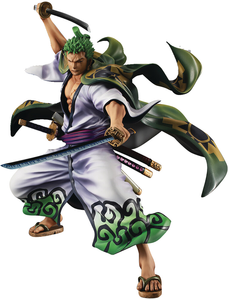 Megahouse - MegaHouse - One Piece Portrait Pirates Warriors All Zoro Juro PVC Figure