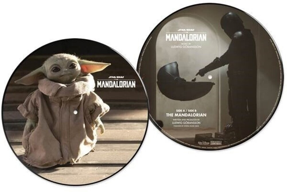 Ludwig Goransson 10in Pict Uk - Star Wars: The Mandalorian / O.S.T. (10in) (Pict)