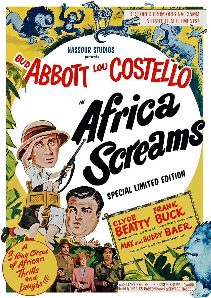 - Africa Screams / (Ltd Spec)