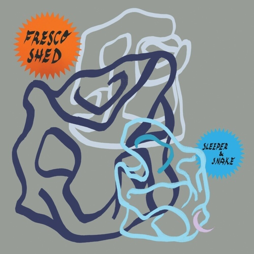 Sleeper & Snake - Fresco Shed (Blue) [Colored Vinyl]