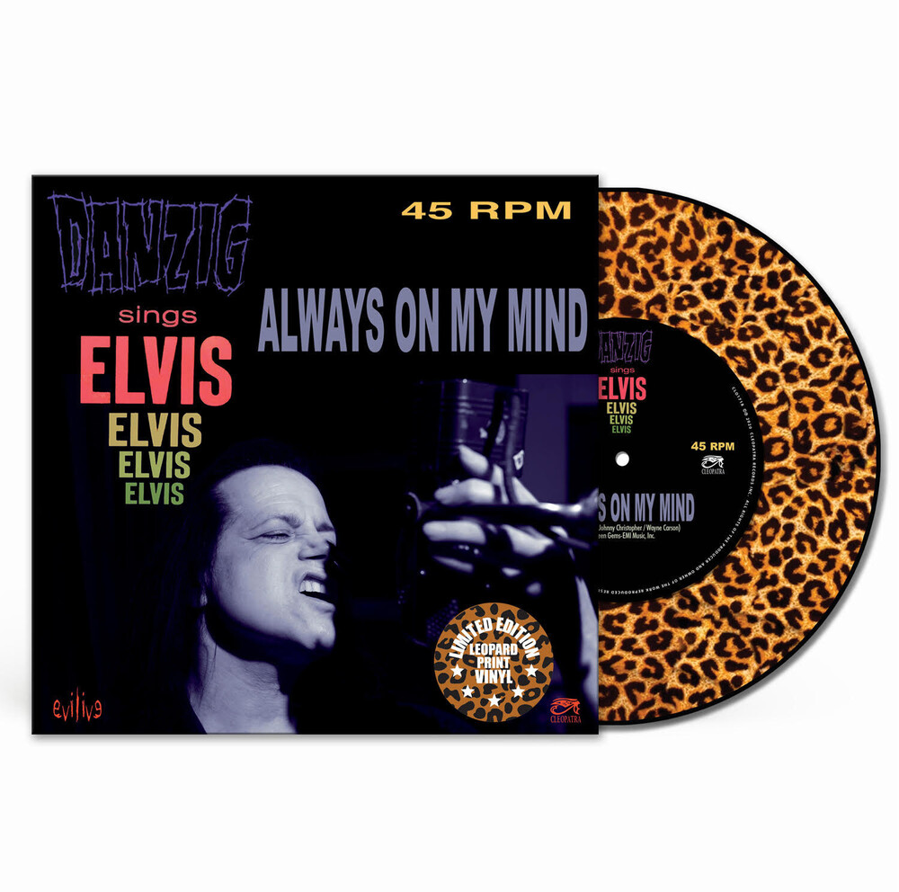 Danzig - Always On My Mind (Leopard Vinyl) (Colv)