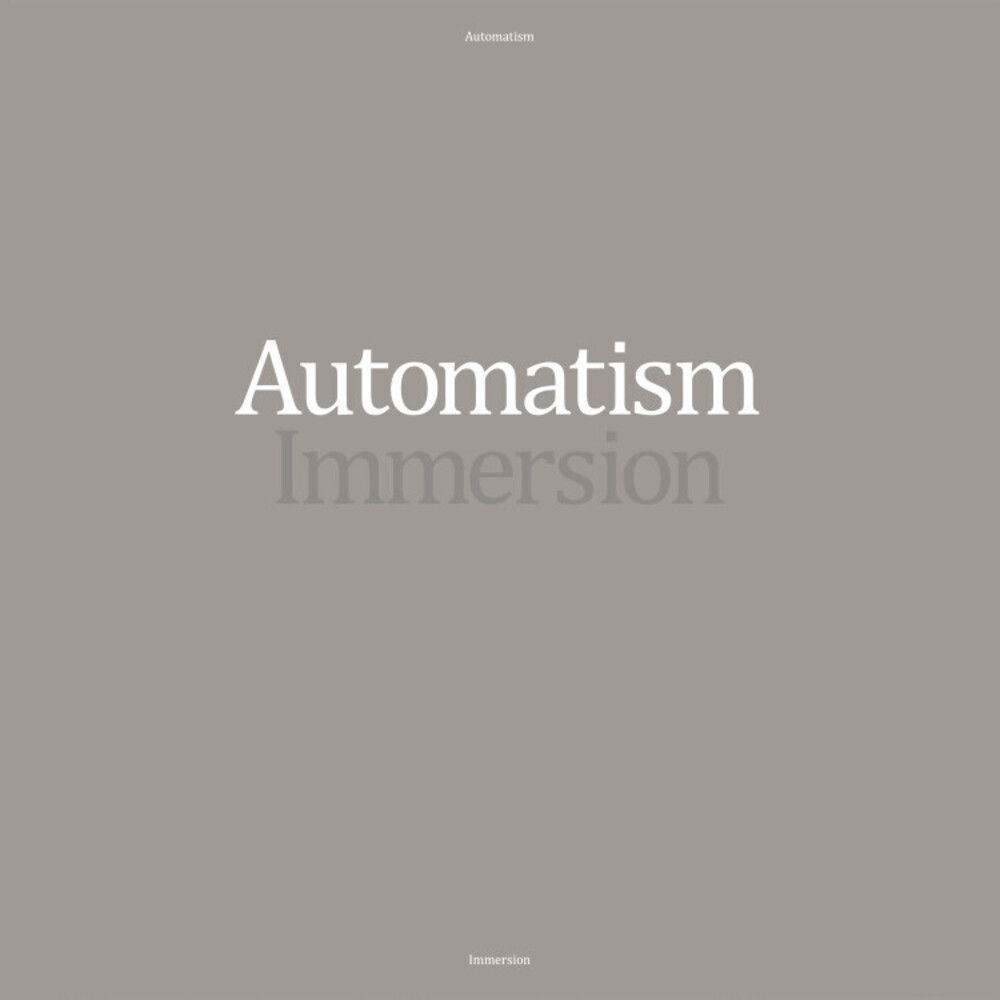 Automatism - Immersion (Colored Vinyl) [Colored Vinyl] [Limited Edition]