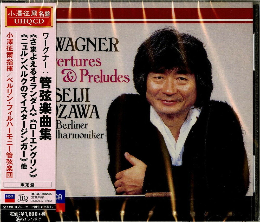 Wagner / Seiji Ozawa - Wagner: Overtures & Preludes (UHQCD-MQA)