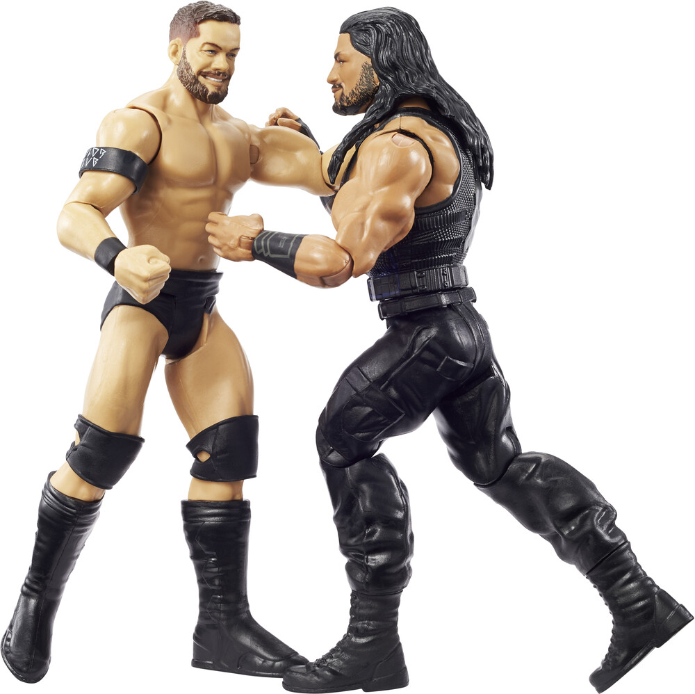 WWE - Mattel Collectible - WWE Basic Battle Pack: Roman Reigns & Finn Balor