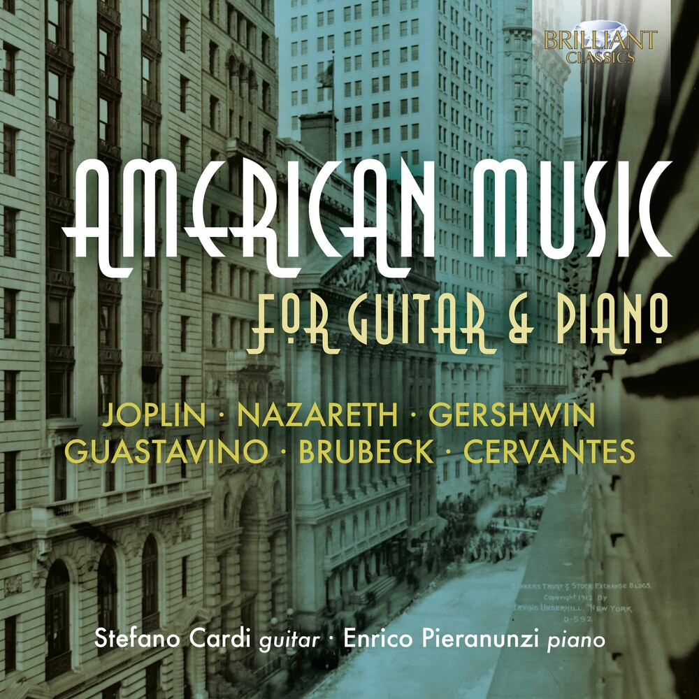 American Music For Guitar & Piano / Various - American Music for Guitar & Piano